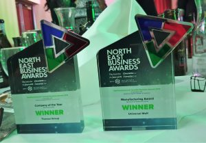 North East Business Awards 2019 Trophies