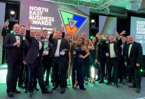 Universal Wolf at the North East Business Awards 2019