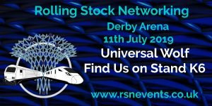 Rolling Stock Network Universal Wolf banner