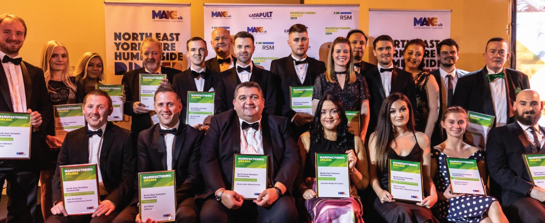 all winners of the Make UK regional award North East, Yorkshire and Humberside