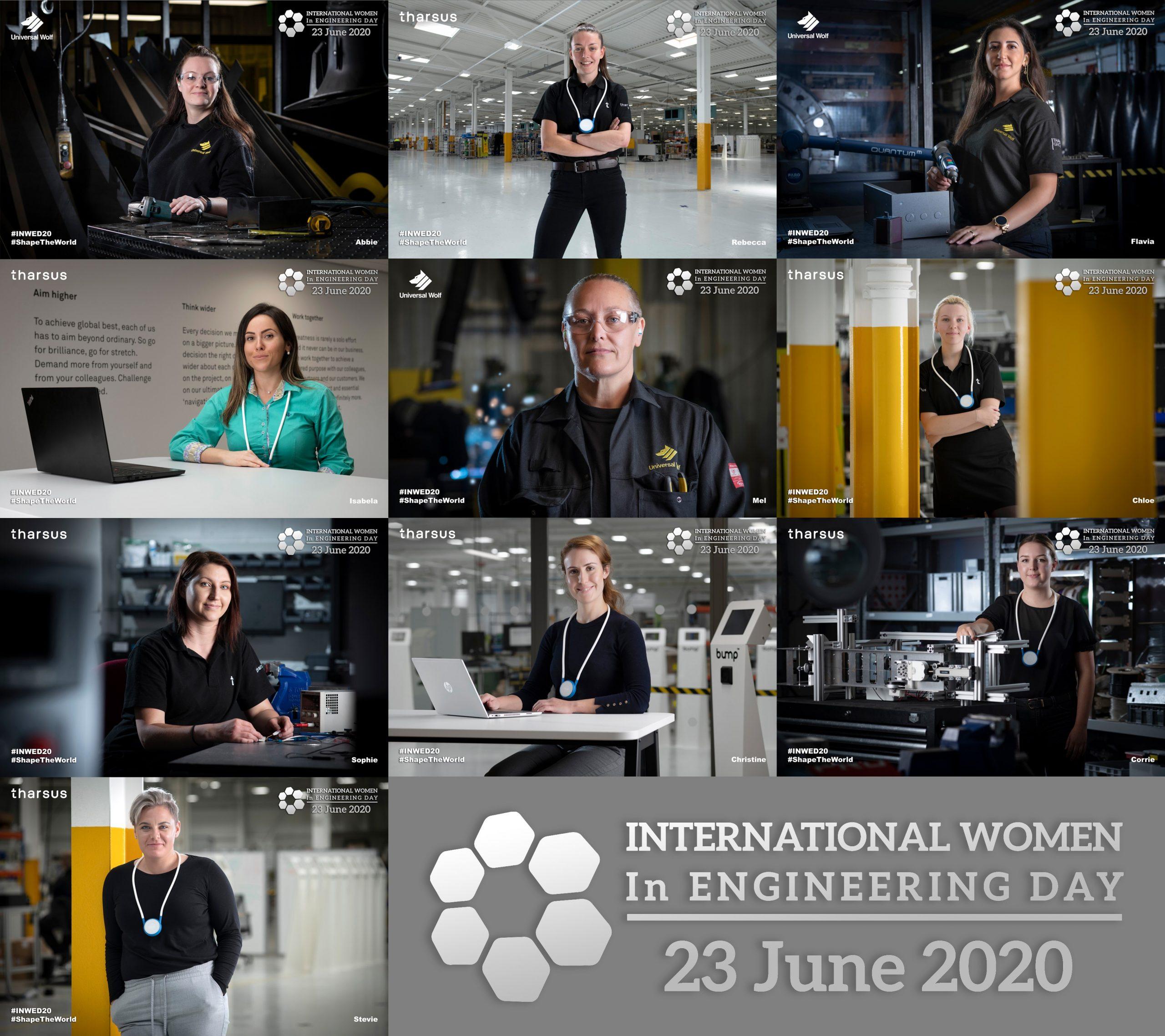 Banner celebrating International Women in Engineering Day 2020