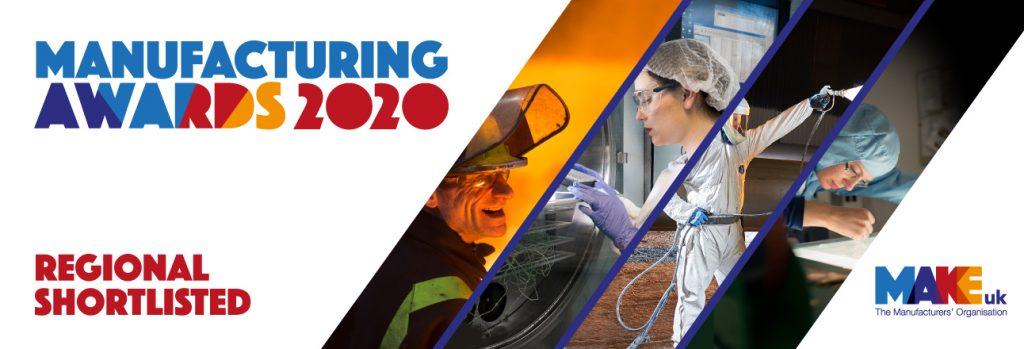 Make UK Manufacturing Awards 2020 banner