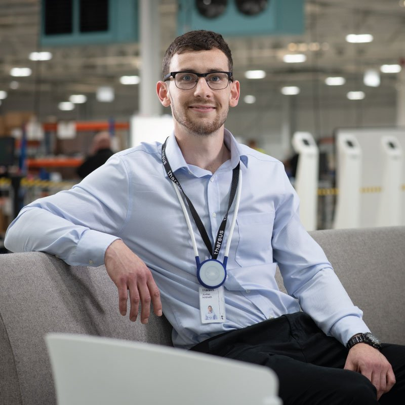 Universal Wolf Graduate Engineer Jordan Hildreth