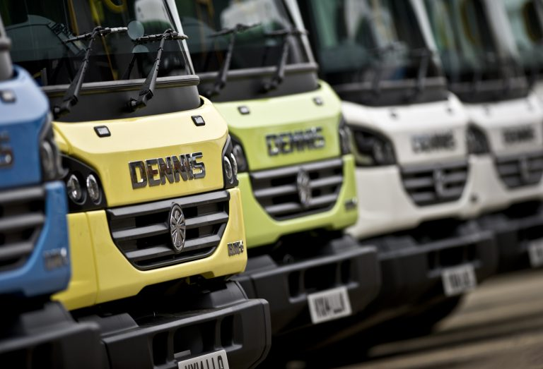 Dennis Eagle refuse collection vehicles
