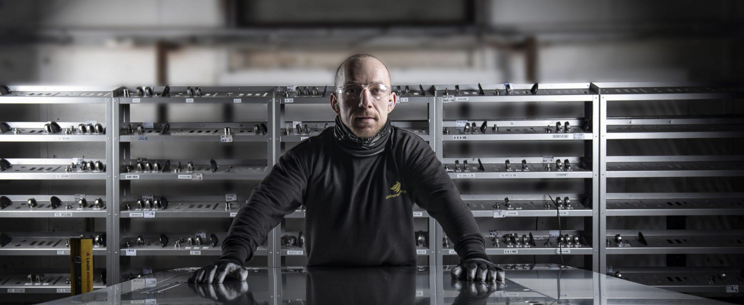 CNC punch press - metal profiling