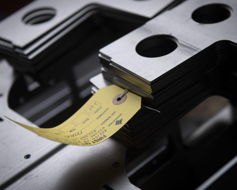 Sheet metal fabrication inspection