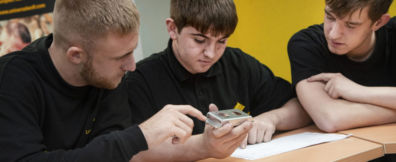 Universal Wolf Fabrication & Welding Engineering Apprentice Josh Harrison