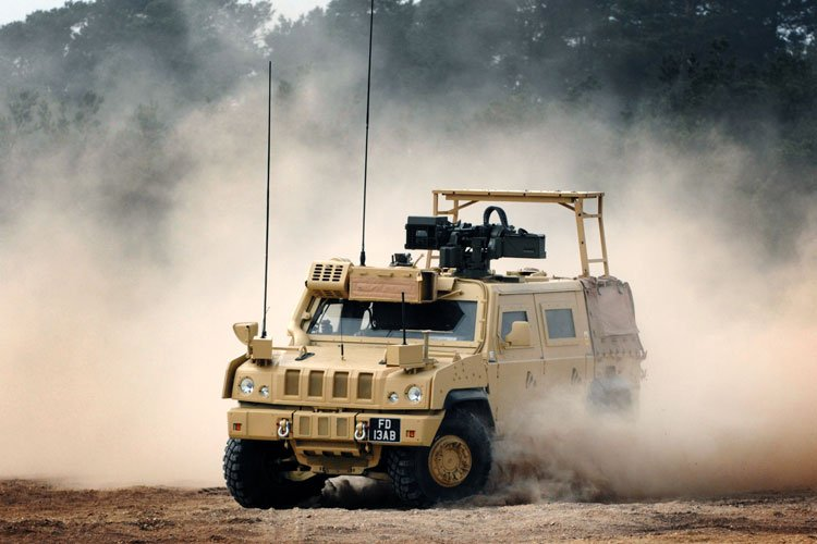 BAE Systems Panther TES Vehicle